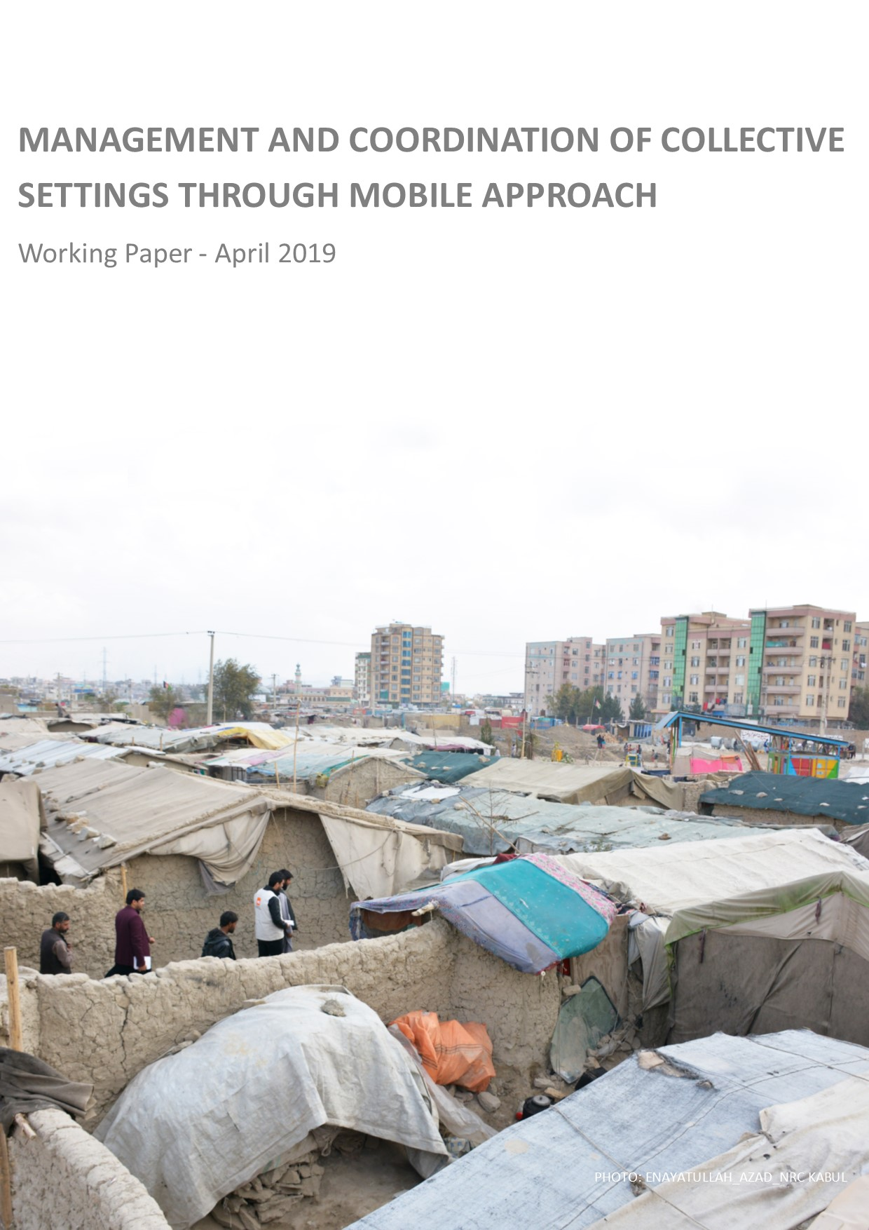 Management and Coordination of Collective Settings through Mobile Approach_cover page